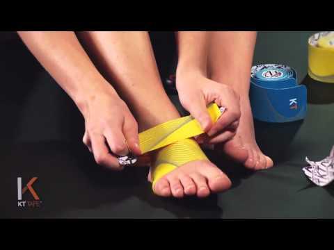 足の甲の痛みに効く!テーピング編