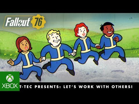 Fallout 76 – Vault-Tec Presents: Let's Work with Others! Multiplayer Video