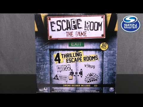 Escape Room the Game from Spin Master