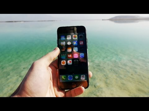 iPhone 7 in Salty Dead Sea for 24 Hours - Will it Survive?