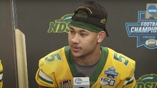 North Dakota State's full postgame press conference at the 2020 FCS Championship