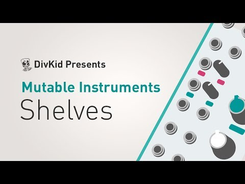 MUTABLE-INSTRUMENTS Shelves MK2 Eurorack modul