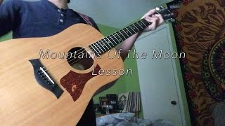 Mountains Of The Moon Grateful Dead (Guitar Lesson)