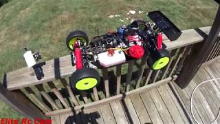 TLR 5ive B road to completion video 12 heat cycles before break in