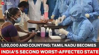 1,00,000 and counting: Tamil Nadu becomes India second worst-affected state - Download this Video in MP3, M4A, WEBM, MP4, 3GP