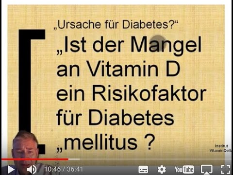 Diabetes und Videos Beine