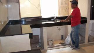 Granite Marble Kitchen Countertops Lima 1