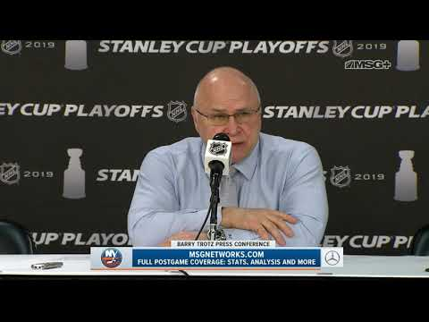 Full Barry Trotz Press Conference After Isles' Series Win | New York Islanders Post Game