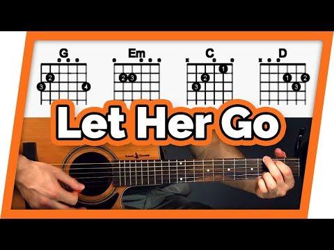 Let Her Go Easy Beginner Guitar Tutorial Passenger