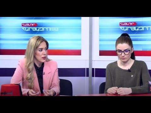 «ՎԵՏՕ»-ի աղջիկները «5-րդ ալիքի» տաղավարում խոսել են ապրիլի 7-ին կայանալիք ակցիայի մասին