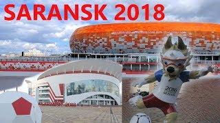 Саранск за неделю до первого матча ЧМ. /  Saransk one week before the first match