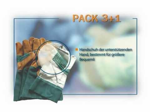 3 + 1 System in Schutzhandschuhen - MAFEPE