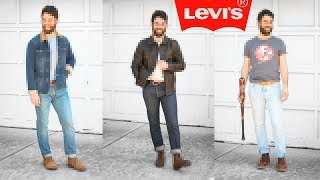 How I Style My Levis Jeans (501s & 511s)