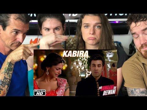 KABIRA Song REACTION!!  Yeh Jawaani Hai Deewani | Ranbir Kapoor | Deepika Padukone