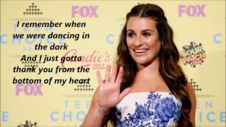 Lea Michele - Believer with lyrics