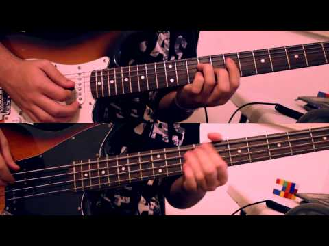 [Guitar + Bass Cover] Red Hot Chili Peppers - Hard To Concentrate