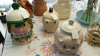 Part 2 - Vintage Haul - Cookie Jars, Yard Sticks, Carnival Canes And More!