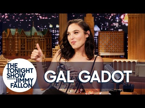 Gal Gadot Tries a Reese's Peanut Butter Cup for the First Time