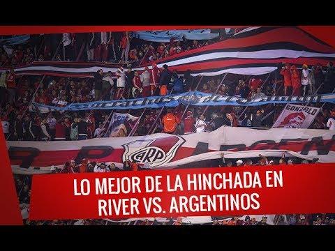 """""""River vs. Argentinos - Lo mejor de la hinchada - Superliga 2017/18"""" Barra: Los Borrachos del Tablón • Club: River Plate"""
