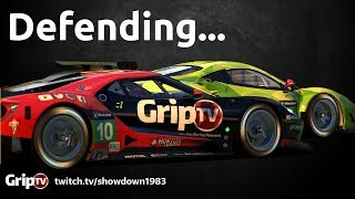 iRacing: How to defend...