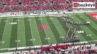 "Ohio State Marching Band ""Michael Jackson Tribute""   Halftime Vs. Iowa: 10 19 13"