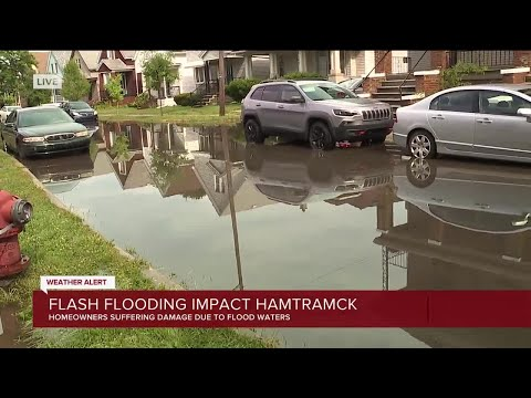 Flash flooding impacts Hamtramck
