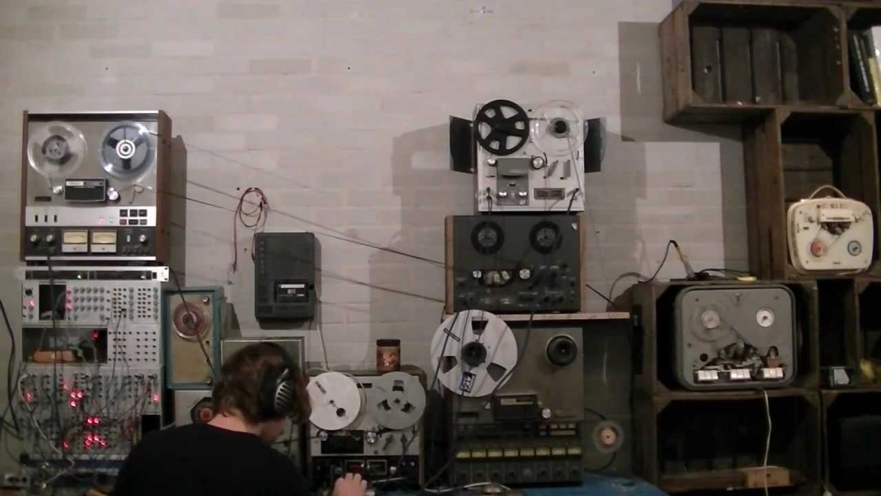 Old Reel-To-Reel Tape Recorders Put To Innovative Use: Techno