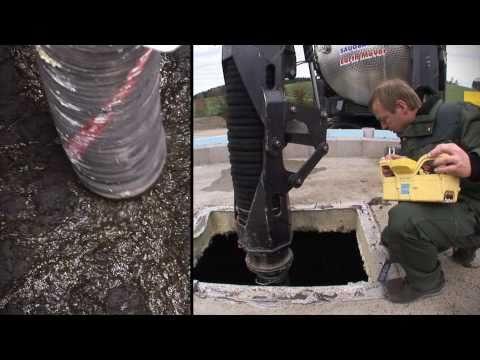 Fermenterreinigung in einer Biogasanlage