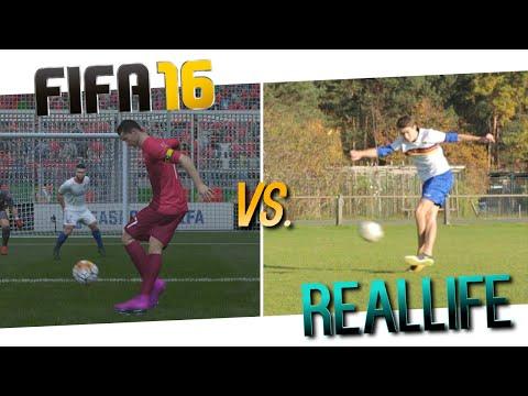 FIFA 16 vs Real Life - New Skills & Combos - RabonaFreestyle (feat. FifaGoalsUnited)
