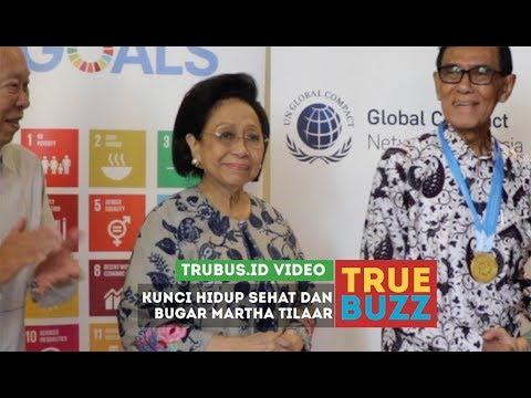 Rahasia Kesehatan Martha Tilaar di Usia 81 Tahun