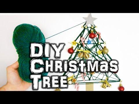 How to Make a DIY Christmas Tree - Πως να φτιάξετε ένα απλό Χριστουγεννιάτικο δέντρο τοίχου