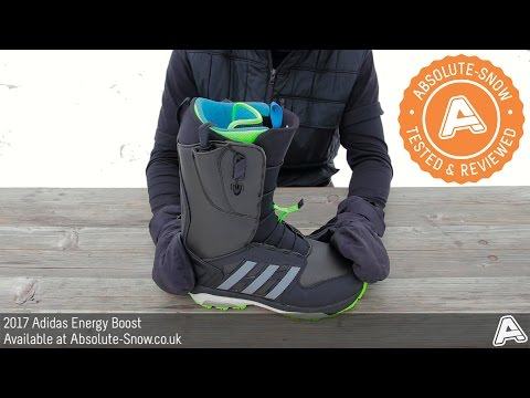 2016 / 2017 | Adidas Energy Boost Snowboard Boots | Video Review