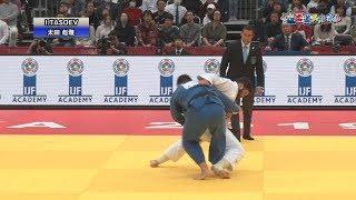 柔道グランドスラム大阪2019 男子100kg超級 決勝