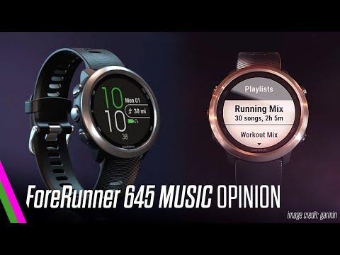 Garmin Forerunner 645 Music OPINION - Not a review