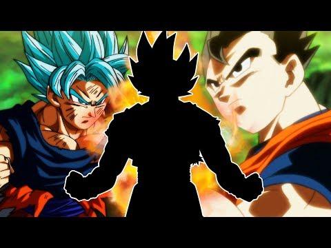 Gohan and Goku SSJ God Fusion into Gokhan Super Saiyan God