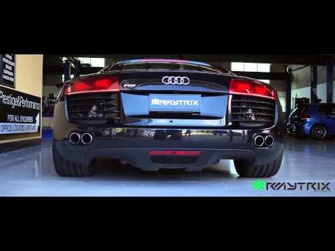 Audi R8 V8 x Titanium Performance Valvetronic Exhaust by Armytrix Australia