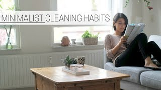 MINIMALIST CLEANING HABITS » for a tidy home