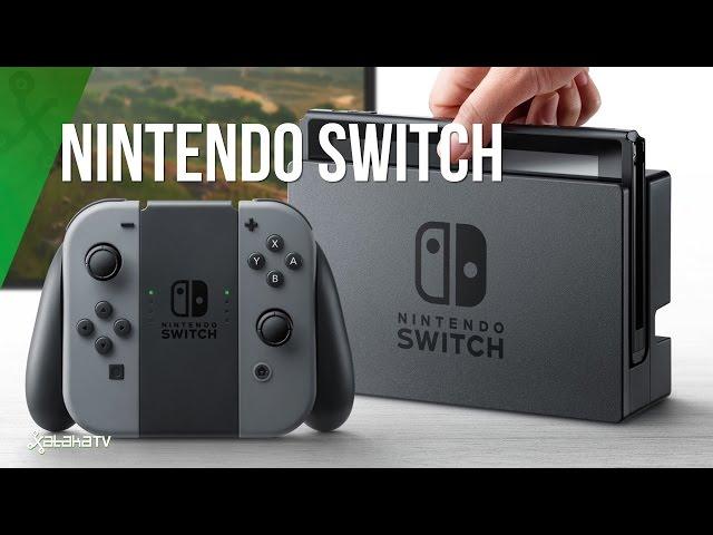 Nintendo Switch, así es la nueva consola