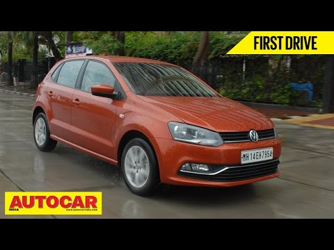 2014 Volkswagen Polo Facelift 1.5 TDI Diesel | First Drive Video Review