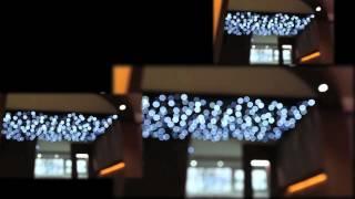 Venushome LED-es lakberendezési bemutatóterem LED-es csillagos égboltjai