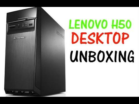 Lenovo H50 Desktop PC - Unboxing (HD)