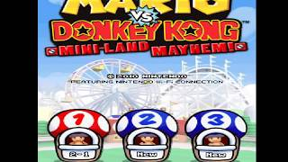 MARIO VS. DONKEY KONG MINI-LAND MAYHEM! (DS)- ATTRACTION 1- COASTER HILLS