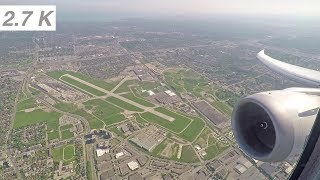 [2.7K] LOT Polish Airlines Boeing 787 take off from Toronto Pearson