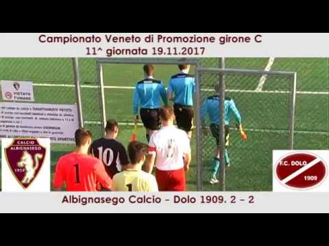Preview video Albignasego Calcio -Dolo 1909 =2-2 (19.11.2017)