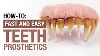 How to create fake teeth in 30 minutes