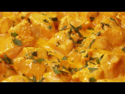 Un pollo al curry demasiado fácil de hacer para ser verdad!