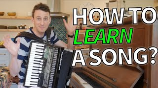 Song Learning Tips - The Chicken Dance Example