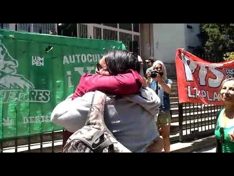 VIDEO. Liberaron al joven de Ensenada que estaba preso por cultivar cannabis con fines medicinales