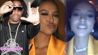 Quavo surprises Karrueche Tran with expensive chain on her 29th birthday
