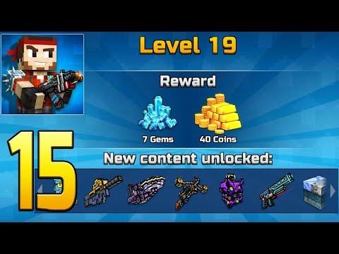 Pixel Gun 3D - Gameplay Walkthrough Part 15 - Level 18 & 19